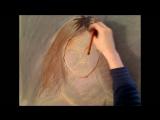 Chloe Grace Moretz Full Color Pastel Portrait Drawing Video