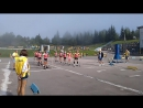 1 часть, смешанная эстафета,Чемпионат Украины по летнему биатлону среди юниоров и юниорок
