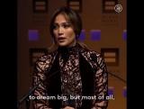 Jennifer Lopez motivation