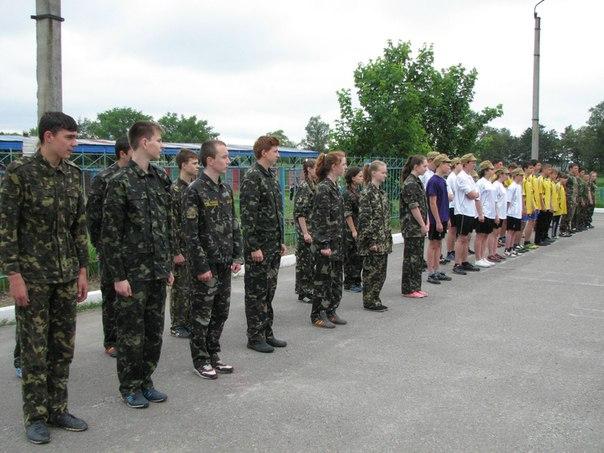 Відбувся районний етап Всеукраїнської дитячо-юнацької військово-патріотичної гри «Сокіл» («Джура»)