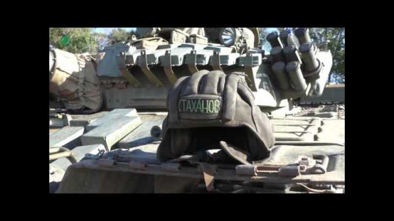 В ДНР завершился танковый биатлон между республиками