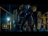Железный Легион против бойцов Киллиана с экстремисом. Железный человек 3
