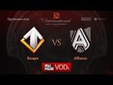 Escape vs Alliance, TI6 Групповой этап, Игра 1