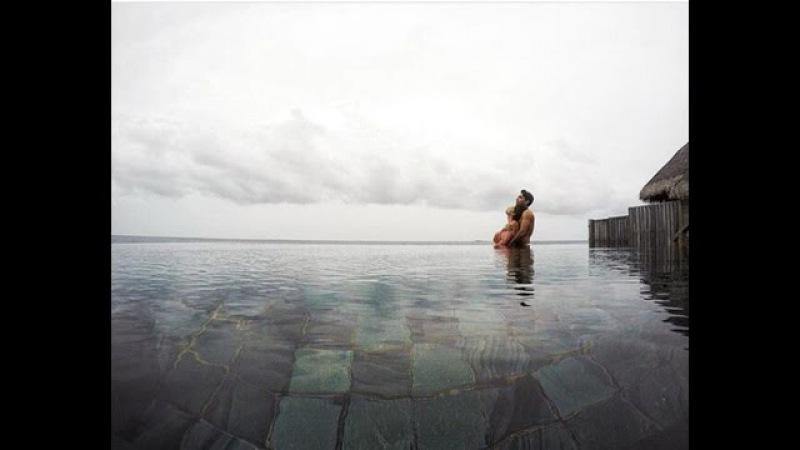 Neslihan Atagül❤️Kadir Doğulu Maldivler'de.Неслихан Атагюль и Кадир Догулу на Мальдивах.
