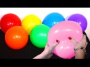 The Balloons Popping Show for LEARNING COLORS Hello Kitty Minions Spider Man Toy Story