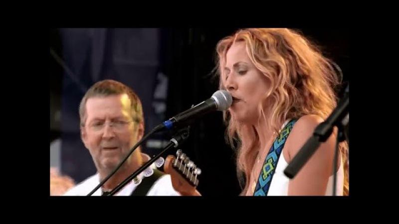 Eric Clapton Sheryl Crow performing Tulsa Time HD Version