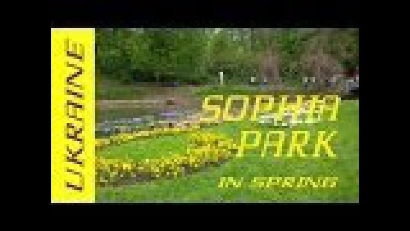 Софиевский парк г. Умань: Весна, ароматы, цветы в Софиевском парке
