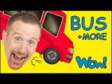 Wheels On The Bus and MORE from Steve and Maggie Short Stories for Kids by Wow English TV