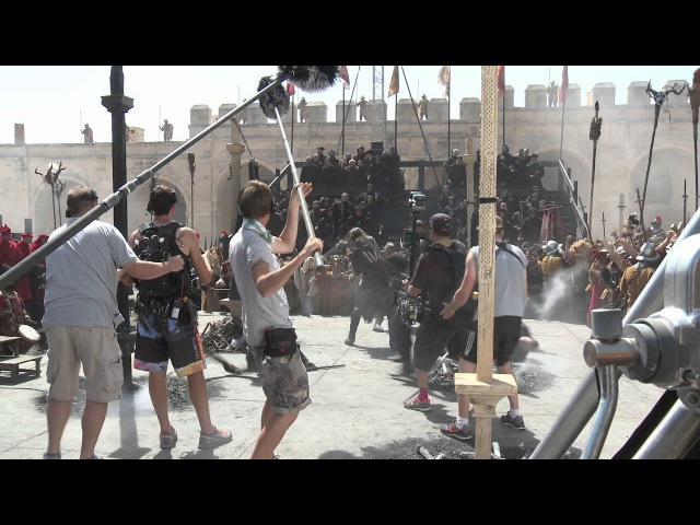 Assassin's Creed Behind the Scenes Movie Broll Michael Fassbender