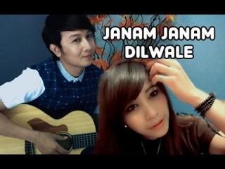 (OST.Dilwale) Janam Janam - Dhea Puse Shakwa & Nathan Fingerstyle | Guitar Cover | Arijit Singh