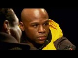 FLOYD MAYWEATHER FACE OFF WITH SHANE MOSLEY