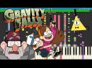 IMPOSSIBLE REMIX - Gravity Falls Theme Song - Piano Cover