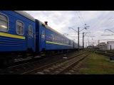 Електровоз ЧС8-082 з поїздом EN 81 Братислава/Будапешт/Прага/Ужгород-Київ /4K;UHD, Dolby So...