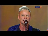 Новая волна-2016. Торжественное закрытие. День 7-й. Sting - I Cant Stop Thinking About You