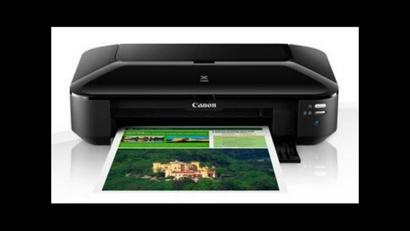 Canon Pixma ix6840 обзор, скорость печати