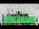 XFX Radeon RX 480 TRIPLE X BENCHMARK /GAME TESTS REVIEW/ 1080p, 1440p, 4K / Windows 10
