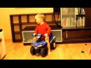 Quad Drift Kiddy car Funny kids video