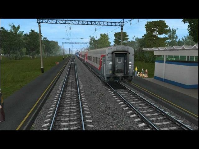 Trainz 2012 - Солнечная - Балезино - Мосты