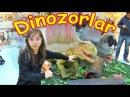 Özdilek Park AVM'de Dinozorlar ile Tanıştık ve Oynadık 🐉 Eğlenceli Çocuk Videosu - Funny Kids Videos