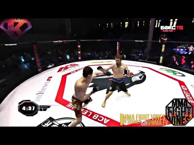 Mukhamed Berkhamov VS Stanislav Vlasenko by Kramer
