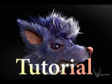 Tutorial Fibermesh for Concept part 2 Zbrush Sculpting and Editing ( fur, feathers, hair, quill )