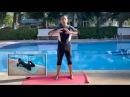 Плавание брассом обучение ученика технике толчка ногами урок 2 1 EXERCISE 2 1 with student