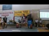 Кшиштоф Вербицки, тяга 375 кг