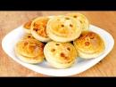 Пирожки Пуговки вкусные маленькие пиццы Mini pizza stuffed Button buns ♡ English subtitles
