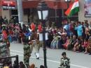 Ритуал открытия границ между Индией и Пакистаном 2 часть