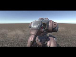 Прототип нового легкого робота