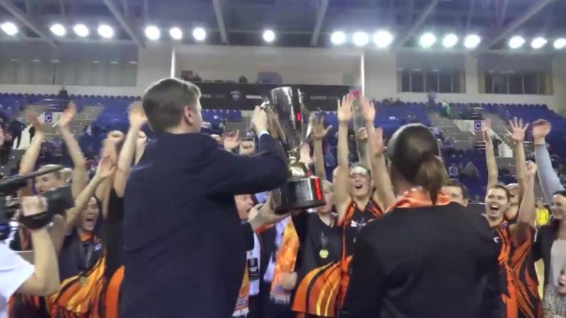 Баскетбольный клуб УГМК — 8-кратный обладатель Кубка России!