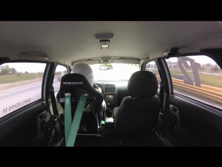 Time Attack On board Lada 21104