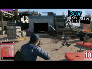 Watch Dogs 2 T-Bone Chaos Event