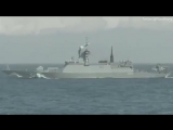 Royal Navy Escorts Two Russian Warships Through English Channel