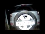 Geely Emgrand X7 - держатель для запасного колеса на фаркопе