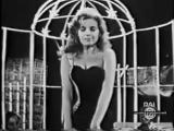 Abbe Lane y Xavier Cugat Serata di Gala Rai 1959 Eso es el Amor