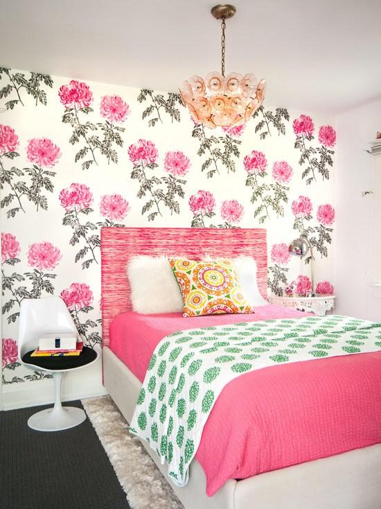 фото красочные декор комнаты девочки