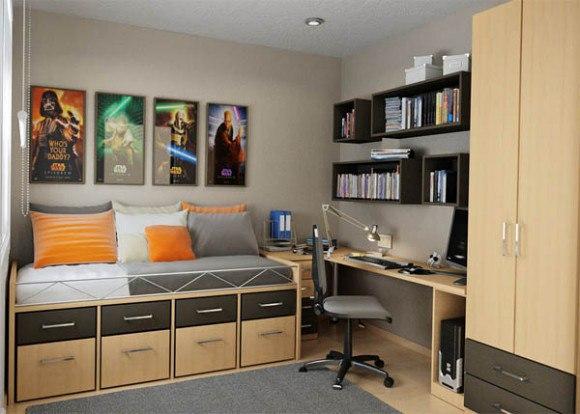 фото декорирование комнаты мальчика подростка