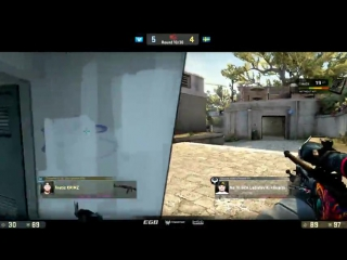 Clutch 1x3 by GuardiaN vs Fnatic @ StarSeries S3