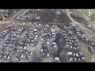 В Португалии на парковке музыкального фестиваля Андансаш сгорели 422 автомобиля.