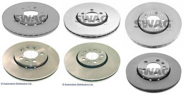 Экономичный тормозной диск для AUDI A1 Sportback (8XA, 8XK)