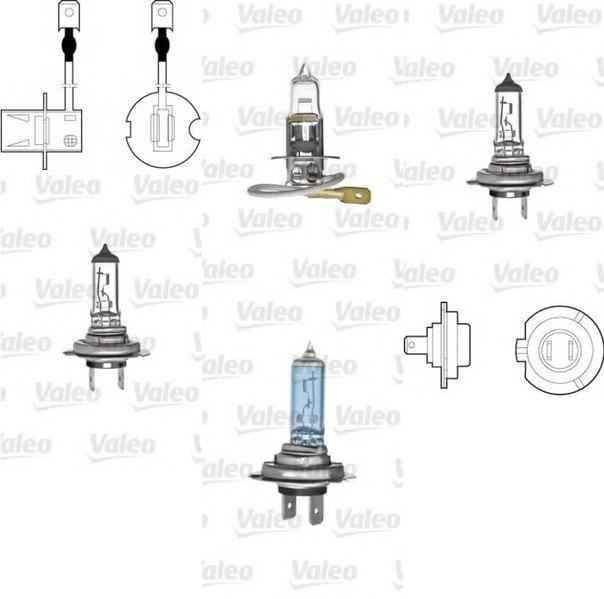Лампа накаливания, противотуманная фара; Лампа накаливания для AUDI A2 (8Z0)