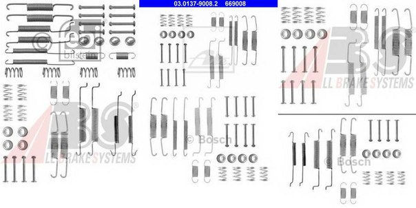 Комплектующие, тормозная колодка для AUDI A2 (8Z0)