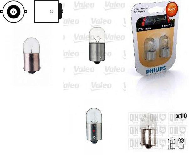 Лампа накаливания, внутренее освещение; Лампа накаливания, фонарь освещения багажника; Лампа накаливания для AUDI A4 кабрио (8H7, B6, 8HE, B7)