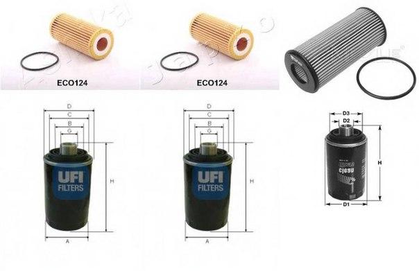 Масляный фильтр для AUDI A5 кабрио (8F7)