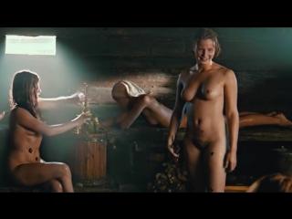 Русская баня или красота обнажённого женского тела