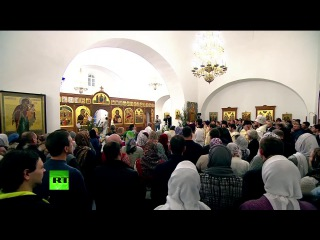 Владимир #Путин на рождественском богослужении в Великом Новгороде