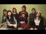 Відеопривітання з новорічними та різдвяними святами (