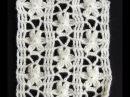 Crochet Punto Calado Flor de 6 Petalos Parte 1 de 2