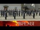 Первый вгоду развод пеших иконных караулов Президентского полка состоялся на...